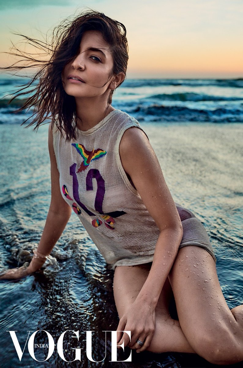 For shore! 🌊 @VOGUEIndia @Anaita_Adajania