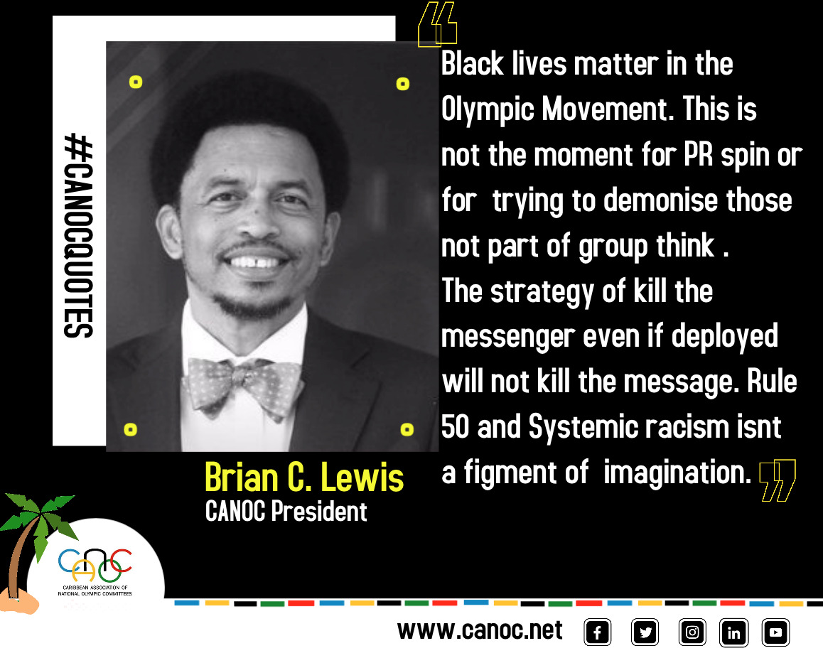 When the response to Black lives matter is All Lives Matter and  Black lives Matter in Sport is Sport for all ....It is a reveal that says what? That after 500 years of systemic racism and racial discrimination and inequalities the struggle and insensitivity continues. https://t.co/0CYfiREU97