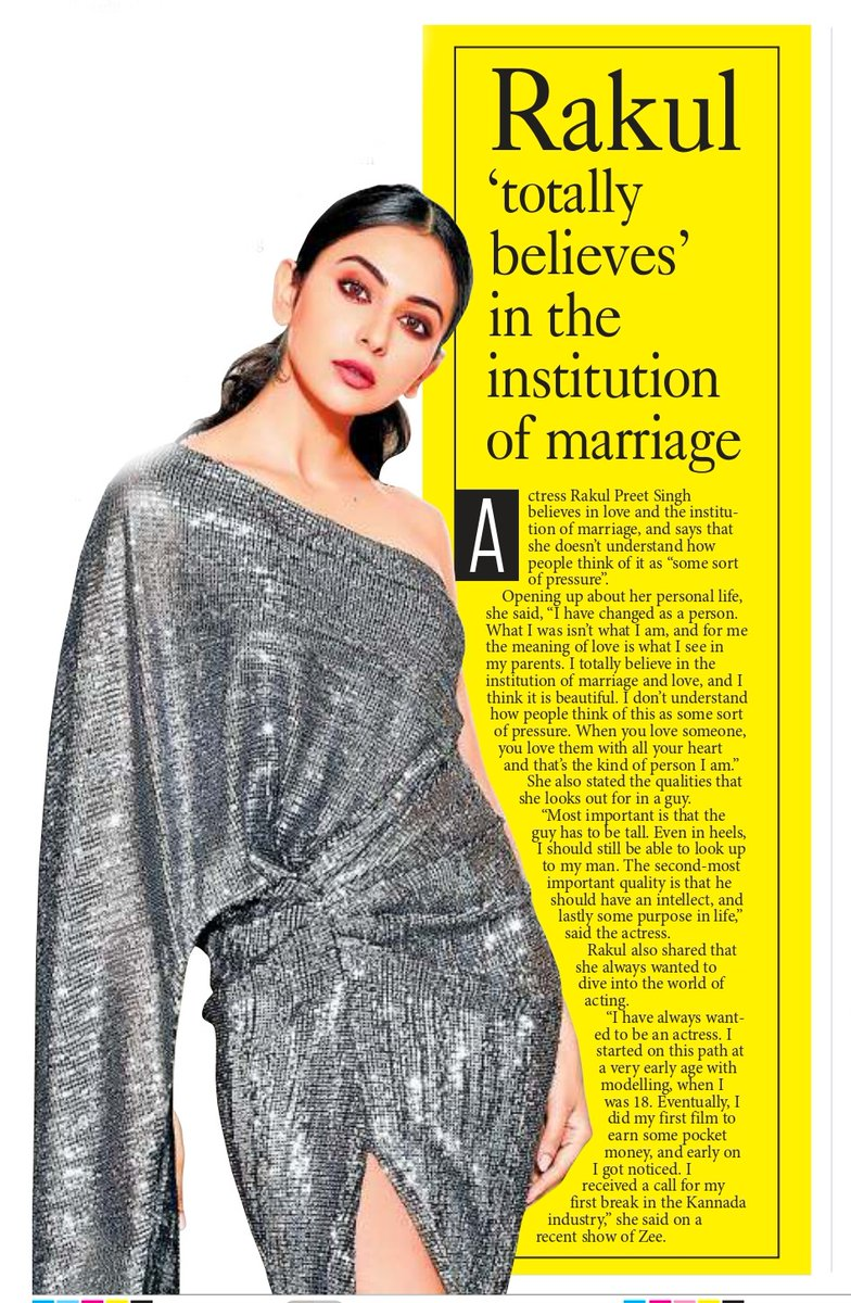 "@Rakulpreet totally believes in the institution of a #marriage ! She says that she doesn't understand how people think of it as ""some sort of pressure"". Read full story here : http://pynr.in/2020/07/09/rakul-preet-i-totally-believe-in-institution-of-marriage/ … #Tollywood #tollywoodactress #teluguactress #RakulPreetSingh #loveislovepic.twitter.com/f4hCmIRsAJ"