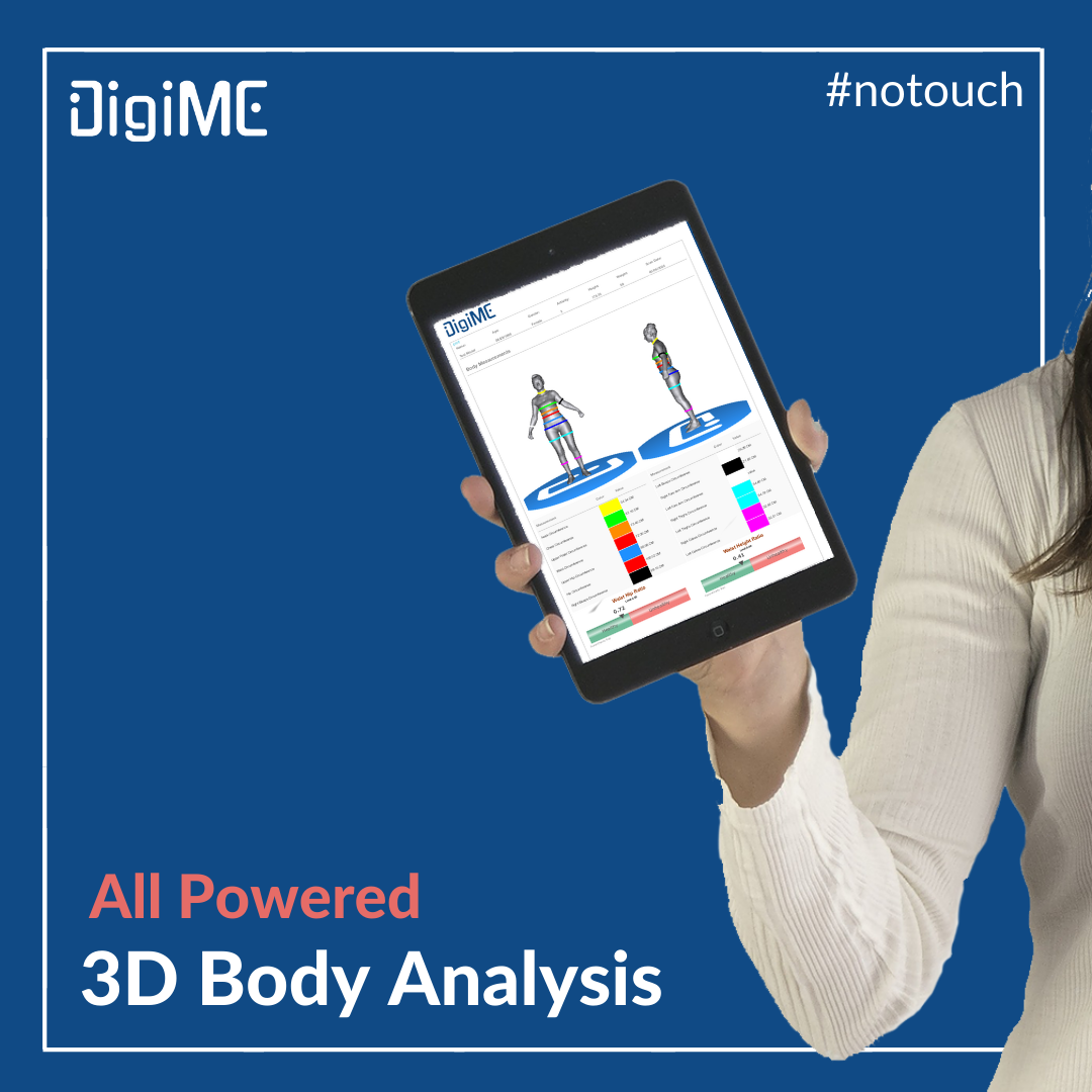You can see and report your 3D data graphically to your screen. You can store these reports and review them at any time. Easily and dynamically you can manage all your data.⠀ . ⠀ .⠀ .⠀ #gym #fitness #3dbodyscan #hightechnology #bodyfat #affordable #portable #digime #healthpic.twitter.com/eVrBtDZ1Pp