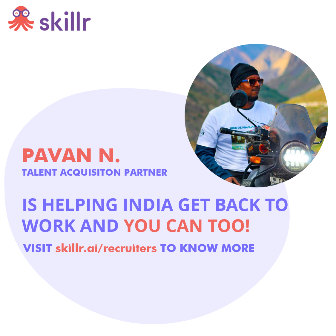 We welcome Pavan N. as a Talent Acquisition Partner! Do you want to be a part of the team as well? Join this movement at https://t.co/VXaP3kxczc. . . . #BharatBackToBusiness #unlock1 #UnlockIndia #covid #hiring #tracker #information #accessible #democratic #pandemic #covidindia https://t.co/F1xFmJcaOI