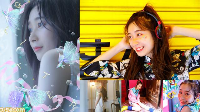 山下七海さん初のデジタルフォトブック『GLITTER』。メイキング映像のナレーションを田中美海さんが担当するエモ展開