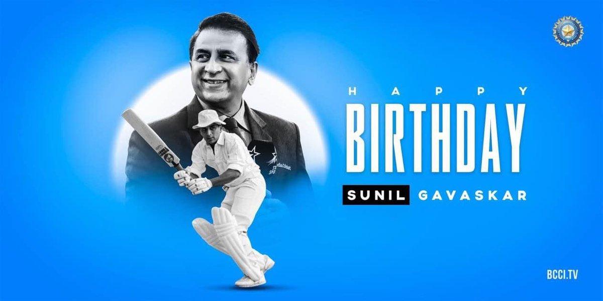 The Greatest Opening Batsman Of Our Generation   First batsman to score 10,000 Test runs   Most number of runs in debut Test series -     Happy Birthday to the former #TeamIndia captain and batting legend, Sunil Gavaskar!  #SunilGavaskar<br>http://pic.twitter.com/jgeSZNV5ui