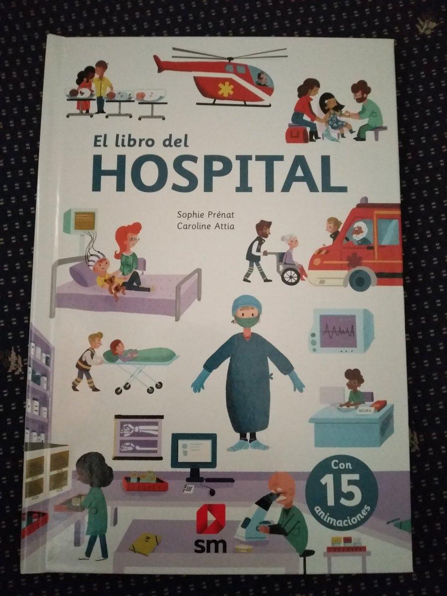 #EstoyLeyendo El libro del hospital, de Sophie Prénat y Caroline Attia. @anikalibros @Literatura_SM #leoycomparto pic.twitter.com/D42rU5Msor