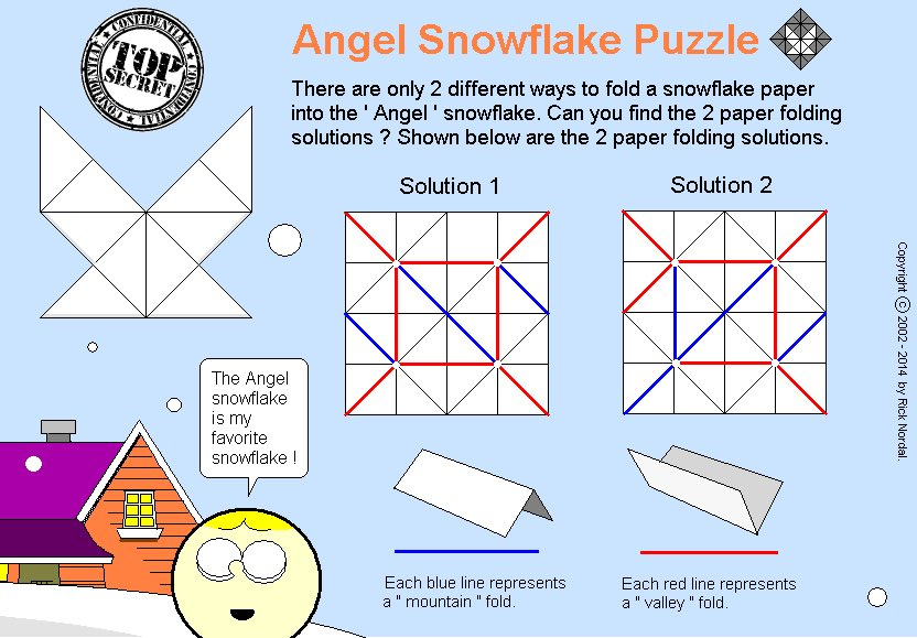 Origami Snowflake Game ! Created by Rick Nordal. Angel Snowflake Puzzle. https://trxiltgames.wixsite.com/trxilt-game/osg #origami #paperfolding #snowflakes #snow #angel #ricknodal #puzzle #PuzzleForToday #paper #fun #gamedev #indiegames  #foldingpaper #teachers #craftspeople #origamisnowflakegame #funpic.twitter.com/bzGPlsYb3S