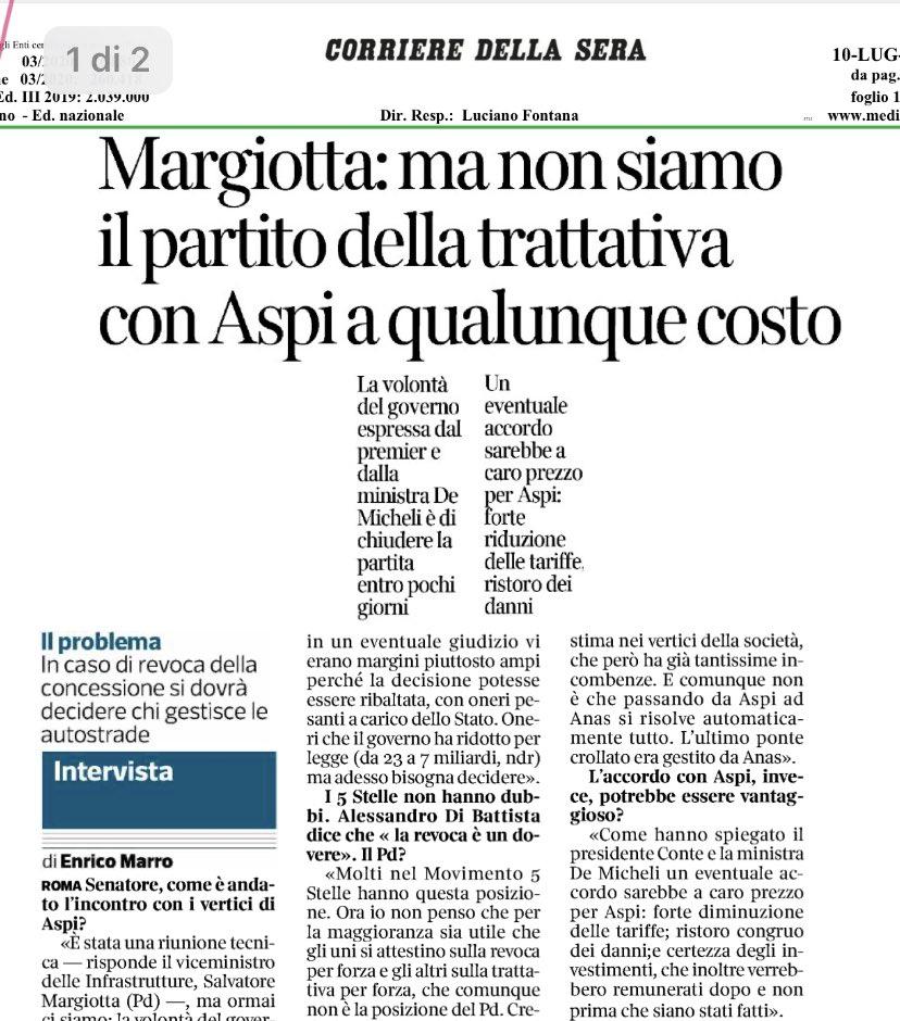 RT @ardigiorgio: @s_margiotta a rilasciare intervi...