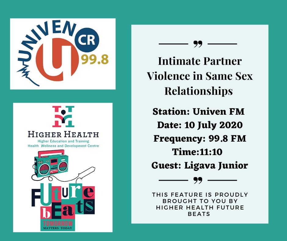 Quite an important conversation this. Please tune in. @UNAIDS_ZAF @outlgbt @Mambaonline @AnovaHealthSA @The_DSD @CsfSanac