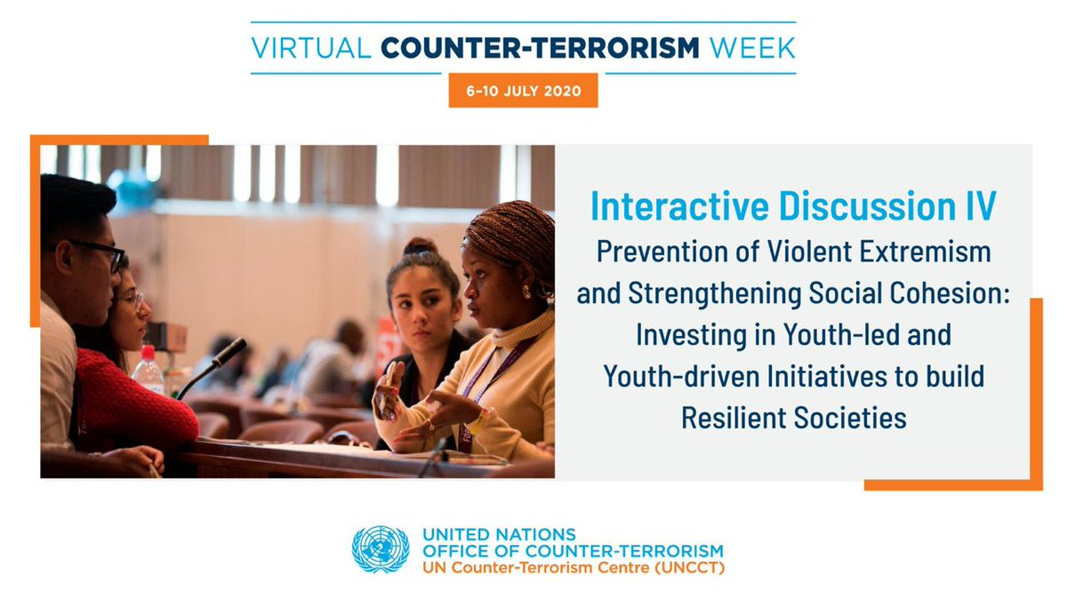 Strong contribution @Wevyn! #VirtualCTWeek @UNDP4Youth #16x16 #UNDPFrontlines #Youth4Peace