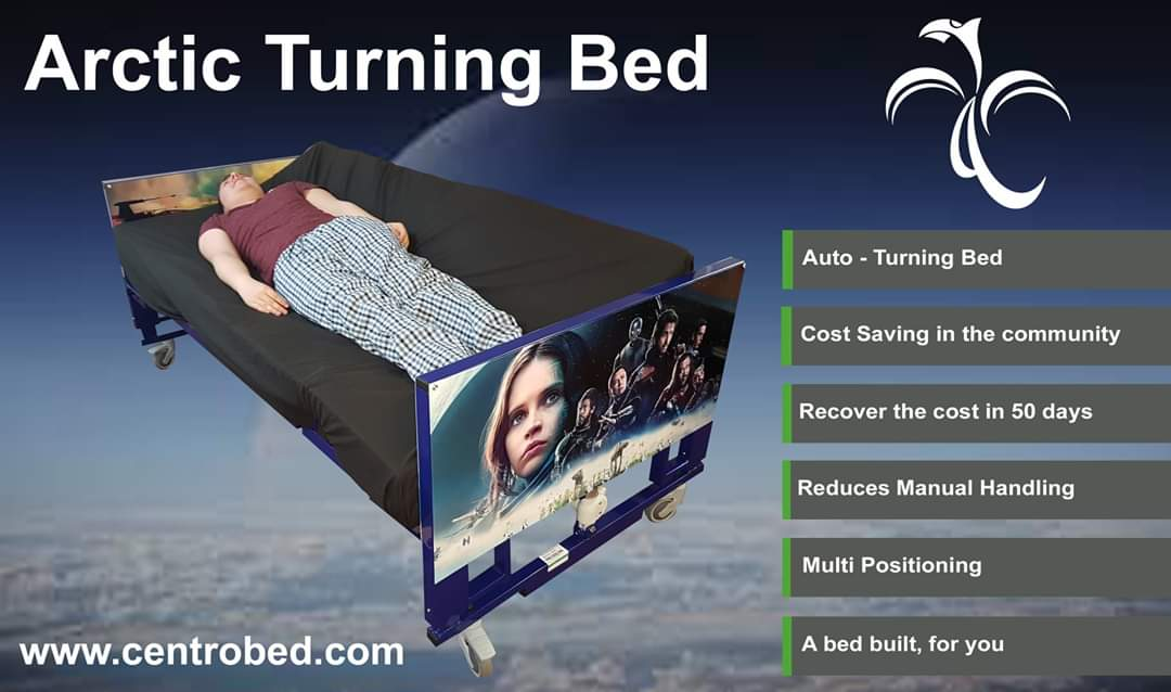 The Arctic Turning Bed is #oneofakind. Many people across the #UK have already #invested in this #Amazing #Specialist #bed that has #help #reduce #manualhandling and encourages #independence. #stopthepressure #bedblocking #singlehandedcare #StarWarspic.twitter.com/7kGd1noBvE