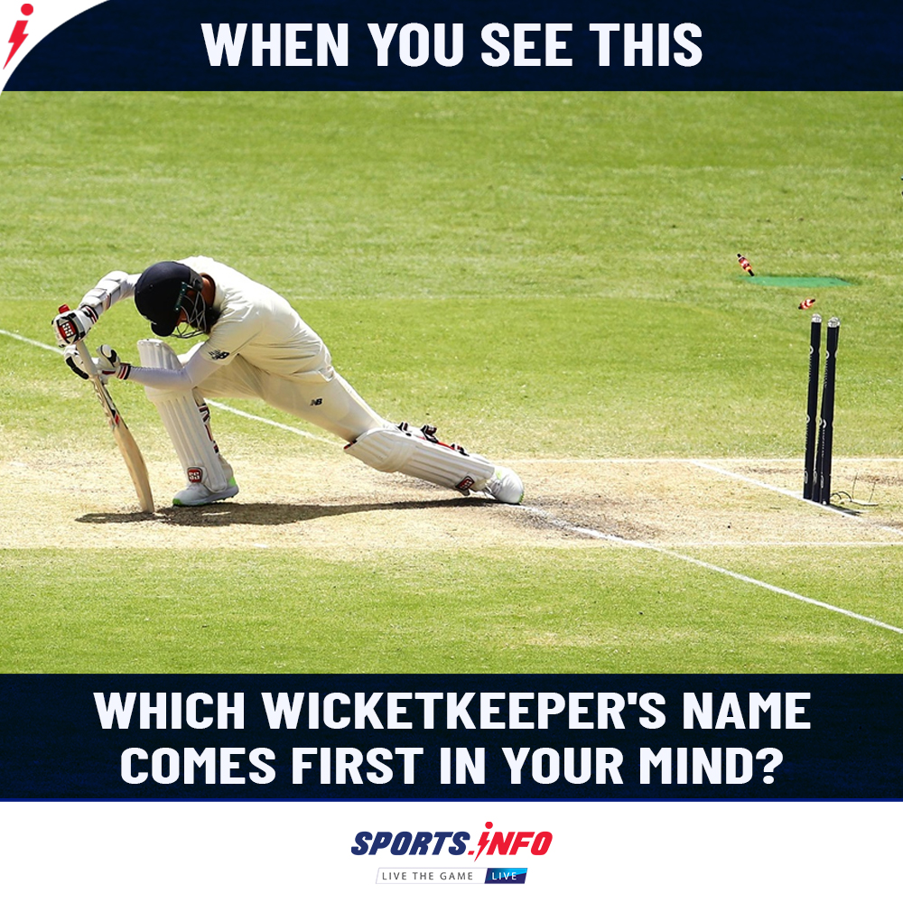 Can you guess who can be the wicketkeeper? . . . #MSDhoni #Test #Favourite #Opinion #SportsDotInfo #ENGvWI #cricketisback #MSDhoni #FridayThoughts #FridayMotivation #fridaymorning<br>http://pic.twitter.com/62sNuAfL2D