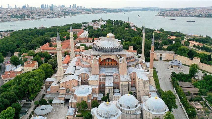 Госсовет Турции огласит решение по статусу Айя-Софьи  #АйяСофия #Турция http://v.aa.com.tr/1905972pic.twitter.com/X5wFoUp6yK