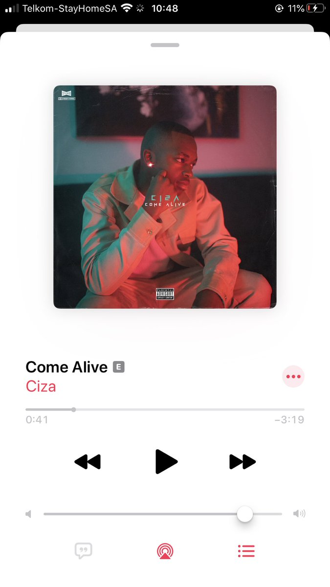 """Come Alive"" by @ciza_sa is OUT NOW on all digital streaming platforms. 🔥 music.apple.com/za/album/come-…"