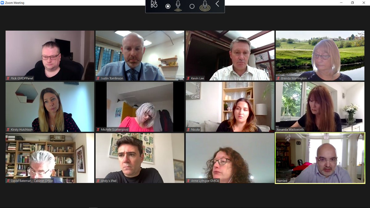 Thank you to @AndyBurnhamGM @MayorofGM for hosting an excellent virtual round-table with his brilliant Greater Manchester Disability Stakeholders.  Really helpful discussions and insight ahead of our ambitious Green Paper & National Strategy for Disabled People. pic.twitter.com/bIj0ixhVTs