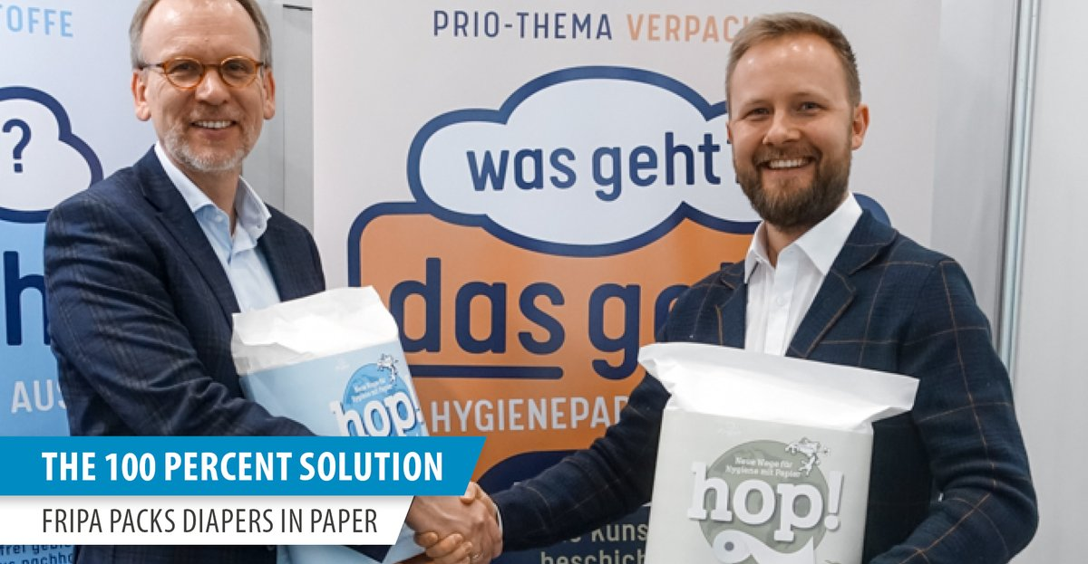 Sustainability is one of Optima's focus topics. In line with this, a paper #packaging project is just prior to completion. Our new #insight deals with this exciting project with our customer #Fripa.  https://newsroom.optima-packaging.com/en/the-100-percent-solution?utm_source=twitter…  #optima #wecareforpeople #sustainabilitypic.twitter.com/84hi9WWIWP