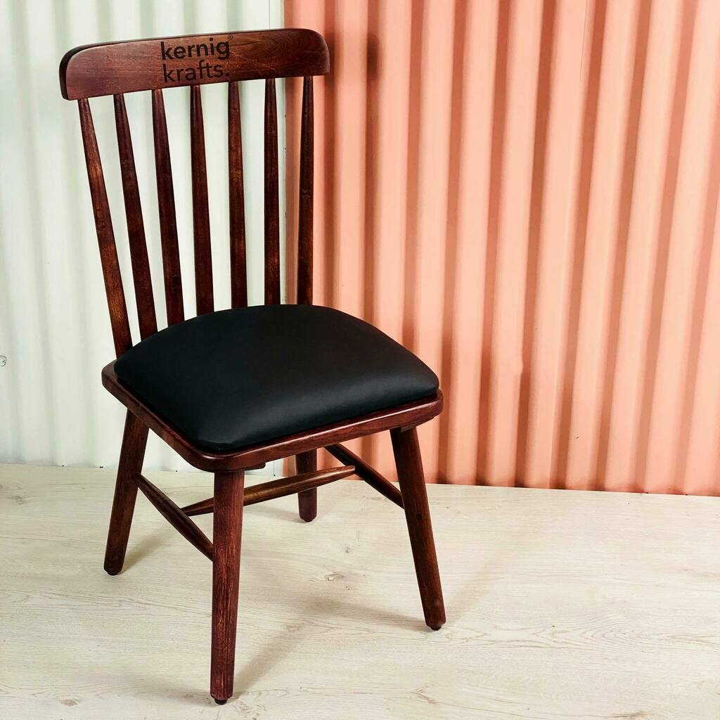 The stick chair. A very difficult chair to make, we have perfected this design.  To order dm us with your address and quantities.  Kernig Krafts Jodhpur Strong. Sturdy. Furniture.  #chair #buyonline #woodenchair #wooden #wood #woodworking #upholestry #acaciawood #cafechair #…pic.twitter.com/sBB5SfRtnN