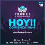 Image for the Tweet beginning: 🙌 ¡¡Mondo Paradiso!! ¡¡Hoy es