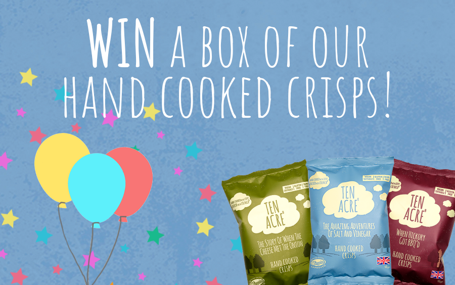 We are VERY excited to announce the launch of our shiny new website, to celebrate we are giving you the chance to WIN a box of our hand cooked crisps! All you have to do is follow the link below and tell us which major supermarket we are now stocked in...