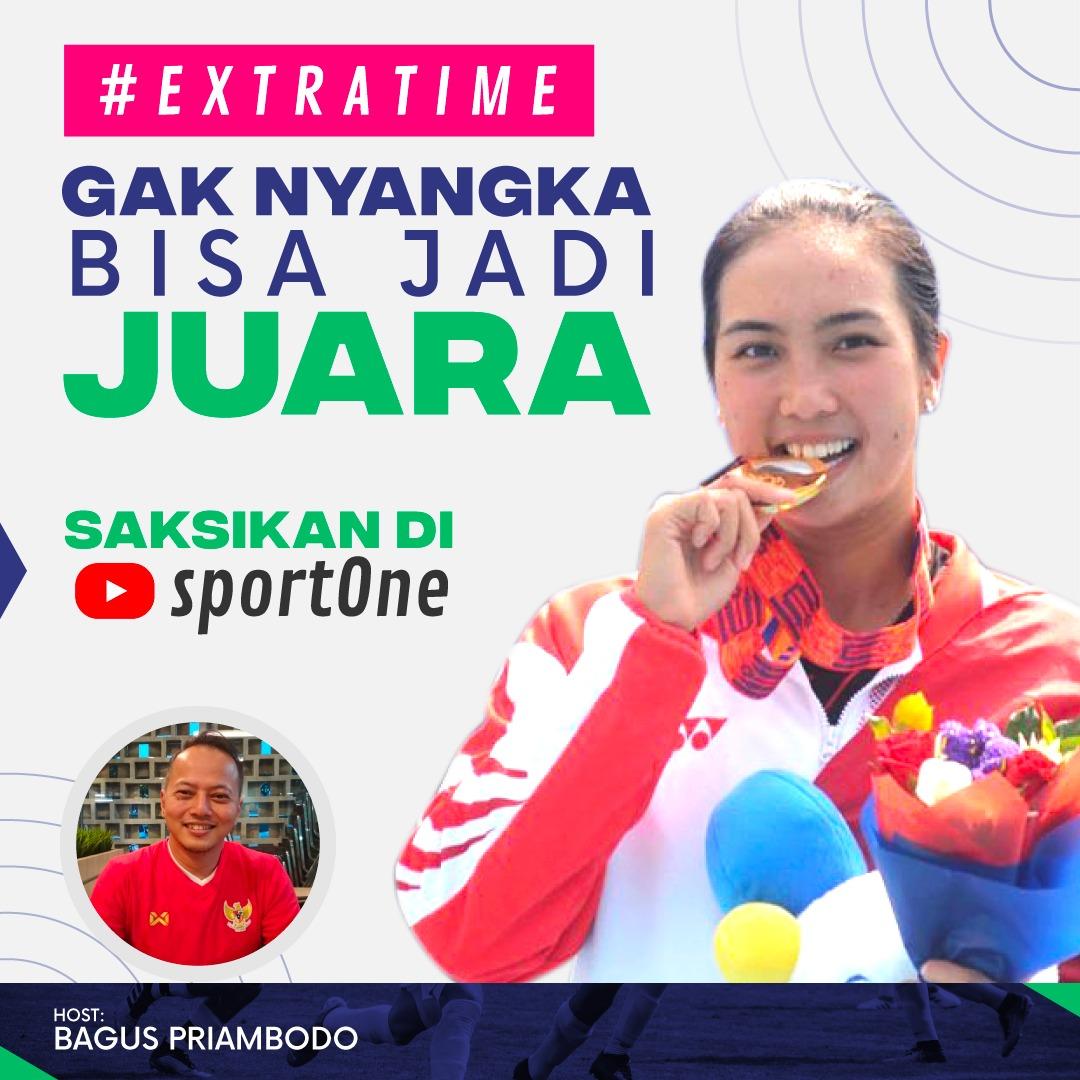 Extratime episode kali ini, Bagus bakal ngobrol seru bareng petenis wanita Indonesia, Aldila Sutjiadi. Saksikan selengkapnya hanya di Youtube channel sportOne klik https://youtu.be/cgcC8tOeQfg #sportOneExtraTime #sportOne #AldilaSutjiadipic.twitter.com/bQQPZLJq0F