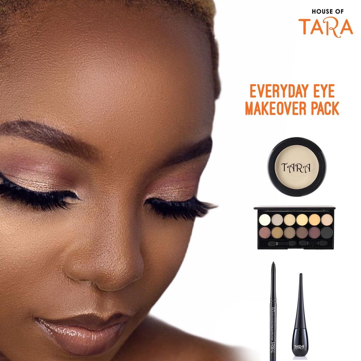 Want that baby girl eye beat for your everyday look ?? 💁🏽‍♀️💁🏽‍♀️ . We've got you covered, shop this eye makeup set all under #12,000  . Details:  Queen Nana 12 eyeshadow: #4,100 Liquid liner: #2,460 Retractable eyeliner: #1,540 Eyeshadow primer: #3,590  All available to shop via DM https://t.co/yJsyCocmXi