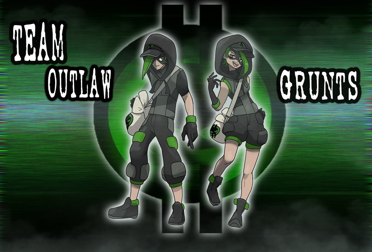 """You may ask """"Who is this Team Outlaw?"""" They are a shady group of hackers who orchestrate heists and steal Pokémon, information and money. You may find a group of Grunts doing no good in the Straya region. They're in it to """"rebel against the system"""" - and to get paid! https://t.co/McrI9kaACS"""