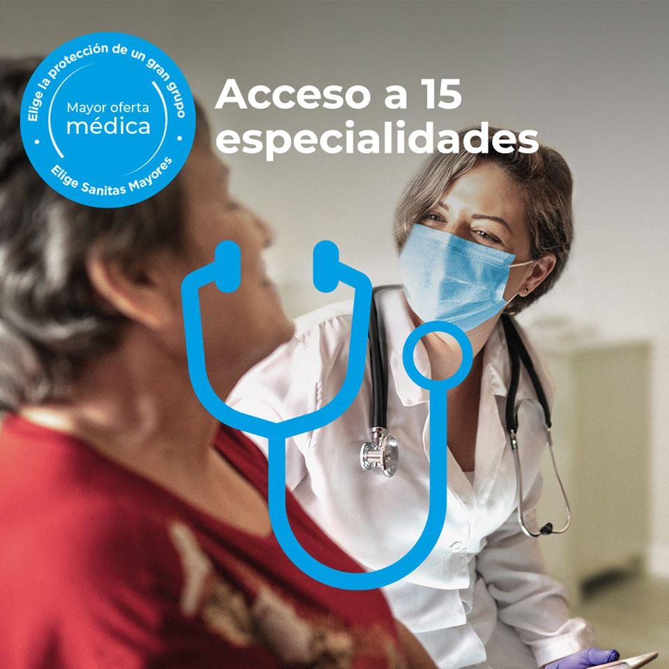 En @Sanitas #Mayores consideramos que es primordial ofrecer servicio médico directamente desde los centros residenciales. El nuevo servicio Mayores Cuidados incluye #videoconsulta con médicos de 15 especialidades del cuadro médico de Sanitas. https://t.co/M4UXEjd2rj