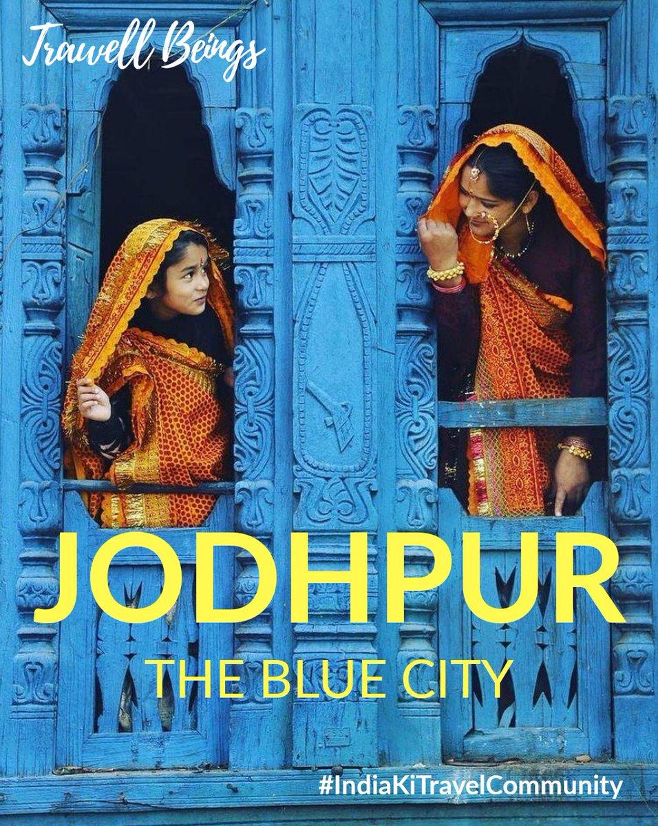 "The Blue City - Jodhpur . Must visit Place after post Covid-19  @trawellbeings  ""Reinventing the travel""  #indiaKiTravelCommunity  #architecture #travelphotography #coronavirus #Covid_19pic.twitter.com/fhT8170A3r"