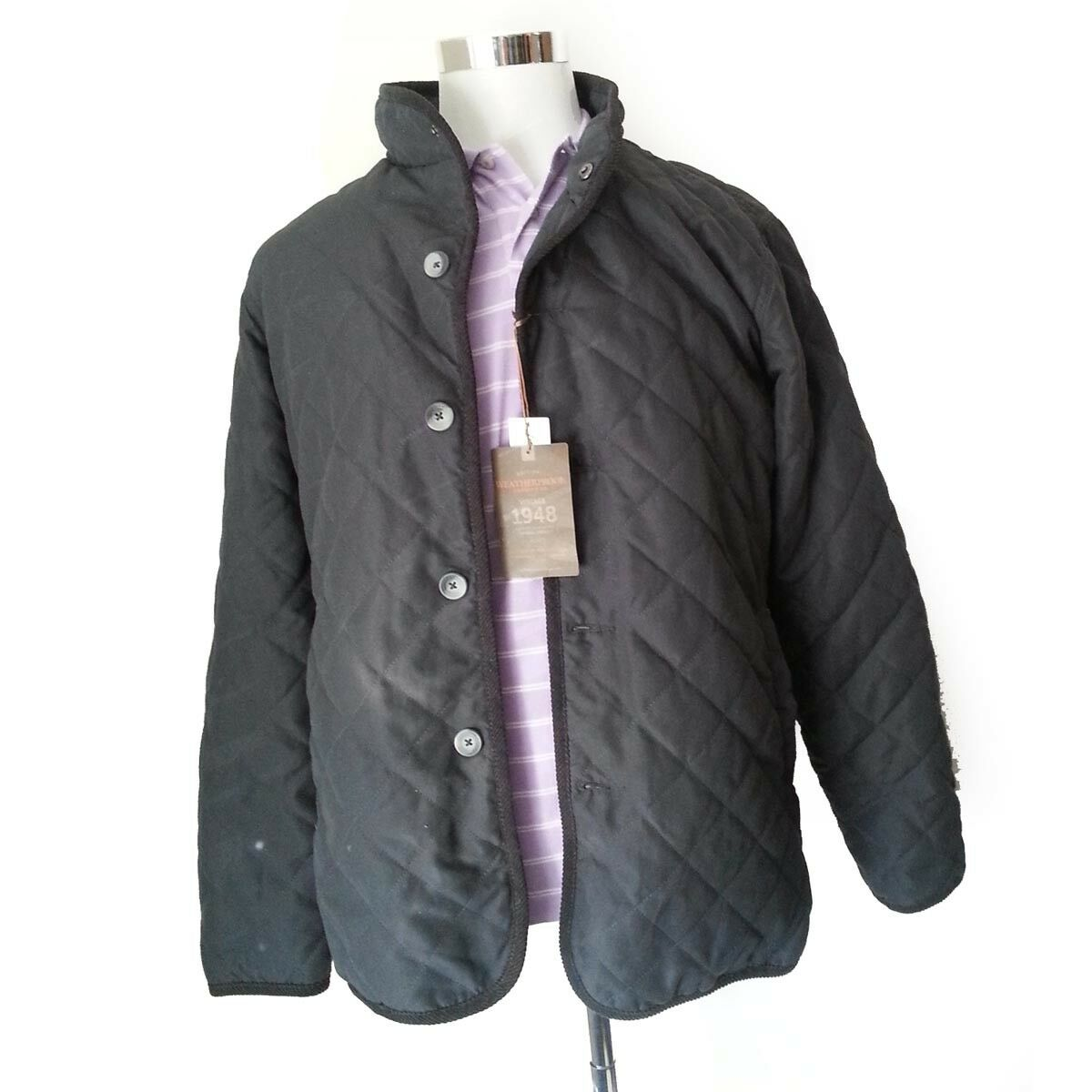 Sale $38.25 https://ebay.to/2KCDYUG  Weatherproof Men Quilted #jacket Size M pic.twitter.com/OpmDlNsYZH