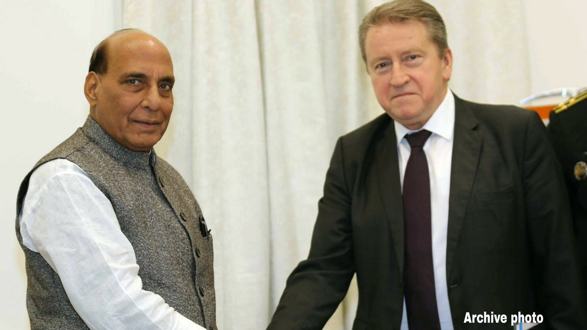 Esteemed @RajnathSingh, wishing you success in all your endeavours and happy returns of the day. Your recent visit to #Moscow was the true manifestation of Russian-Indian camaraderie. pic.twitter.com/uo6kZciWek