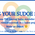 📢📢📢Are U a great storyteller? 🧙🏾‍♂️  Participate to our #ECDay contest: tell us a story ✏️📸🎥on a Sudoe's project & win some great prizes!  Make us dream! ✨💫🌠  All the info ➡️https://t.co/zKbRRP4RUT