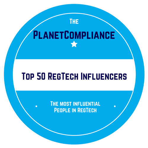 @kvanderhoydonk Well done, you're #6 on this week's  The Planet Compliance Top 50 RegTech Influencers   https://t.co/G0ED26iFxe via @planetcomplianc #RegTech #FinTech #Finserv #Regulation #Innovation https://t.co/W8odR6GP9B