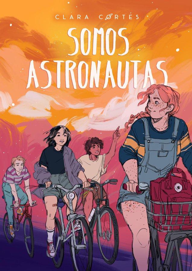 portada de SOMOS ASTRONAUTAS, mi próxima novela