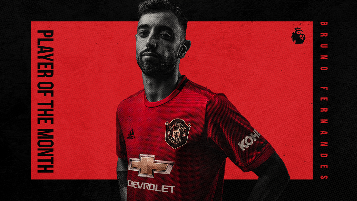 Clear of the rest 😎  Big up @B_Fernandes8, who has been named the #PL's June Player of the Month 👏👏👏  #MUFC https://t.co/xeVnaEFKMk
