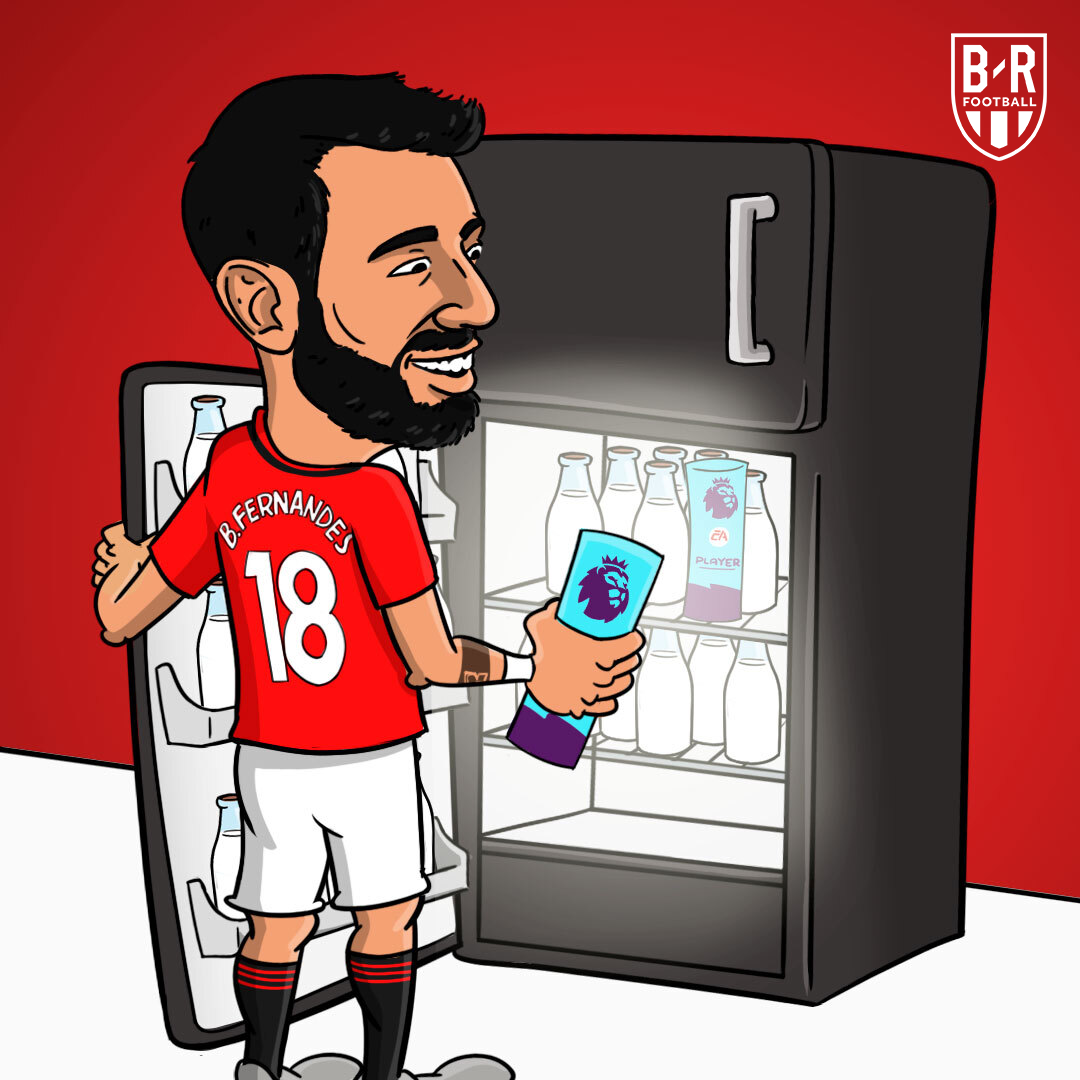 Bruno Fernandes wins Premier League Player of the Month for the second straight month 🥛 https://t.co/T06hXi7lLn