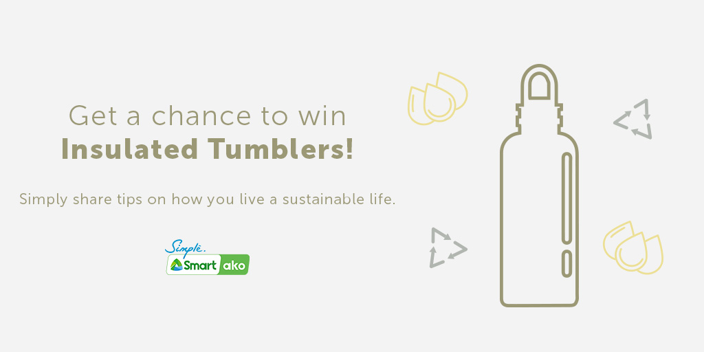 Simplicity has never been this rewarding. Win Klean Kanteen tumblers by simply sharing your tips on how you live a sustainable life in the comments below.   Don't forget to use the hashtag #SmartAko! https://t.co/pUZFfY2LzD