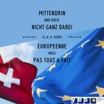 Image for the Tweet beginning: Vom 3.-6. September 2020 findet