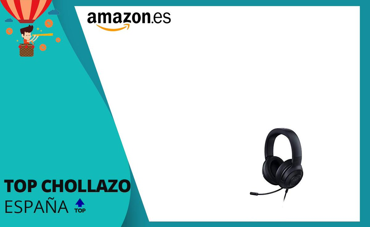 Razer Kraken X 7.1 Auriculares Gaming a 39.2€  (PVP:59.9€)  https://amzn.to/2ZUp40v   Visto en TOP Chollazos Españapic.twitter.com/220YMcDrlj
