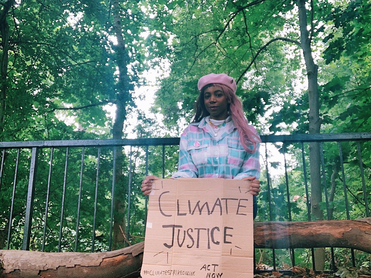 week 18 of #climatestrikeonline  the climate crisis isn't going away, so neither are we. we must fight for intersectional environmentalism- because climate justice includes social justice. the fight continues 🌏  #climatejustice #FridaysForFuture #digitalstrike https://t.co/3EttIADNIF