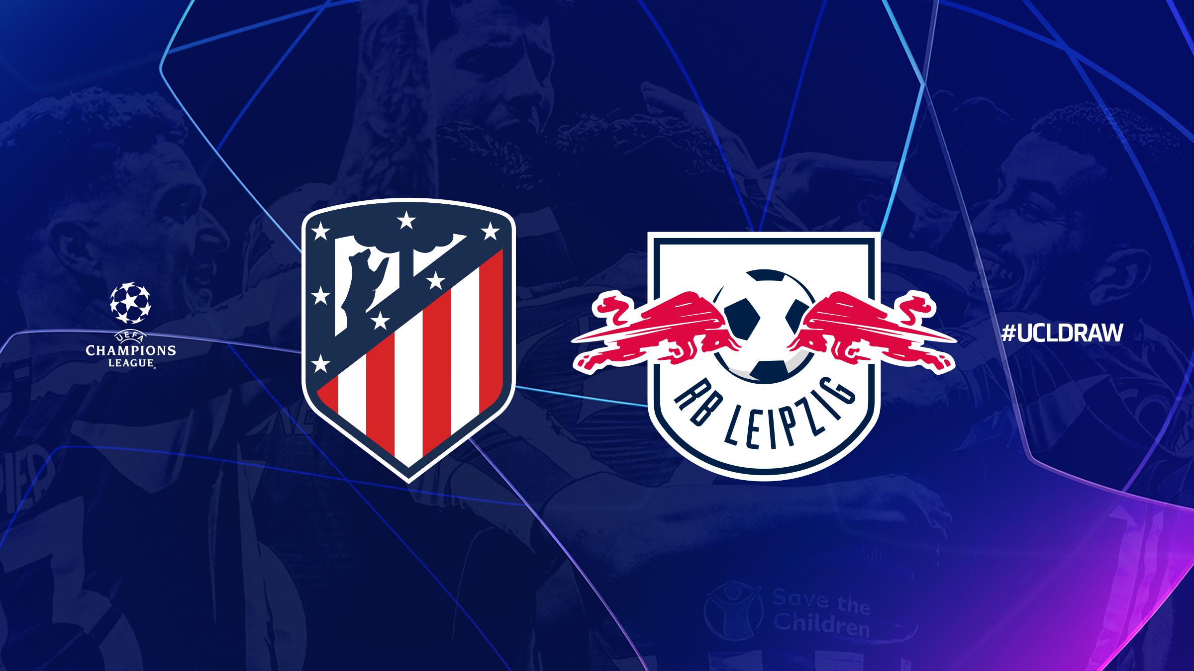 El Atlético de Madrid se medirá al Leipzig en cuartos.
