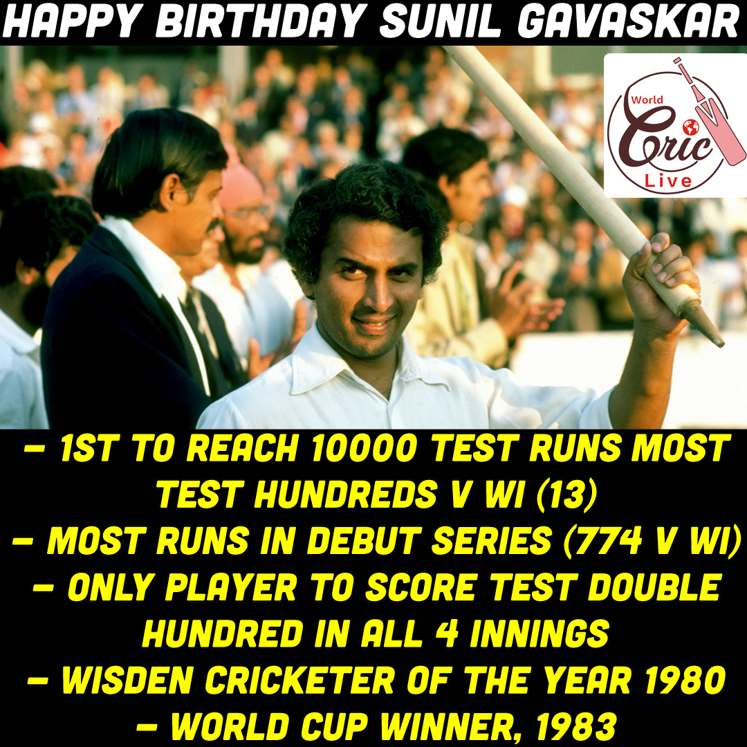 Happy Birthday Sunil Gavaskar #Cricket #TeamIndia <br>http://pic.twitter.com/PSRs2I7WBA