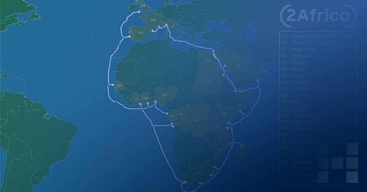Facebook will ein Unterwasserkabel zur besseren Verbindung Afrikas bauen. Da war auch mal was mit Internet-Drohnen. https://t.co/z6AbRn9WRJ https://t.co/6OTgdRFMWN