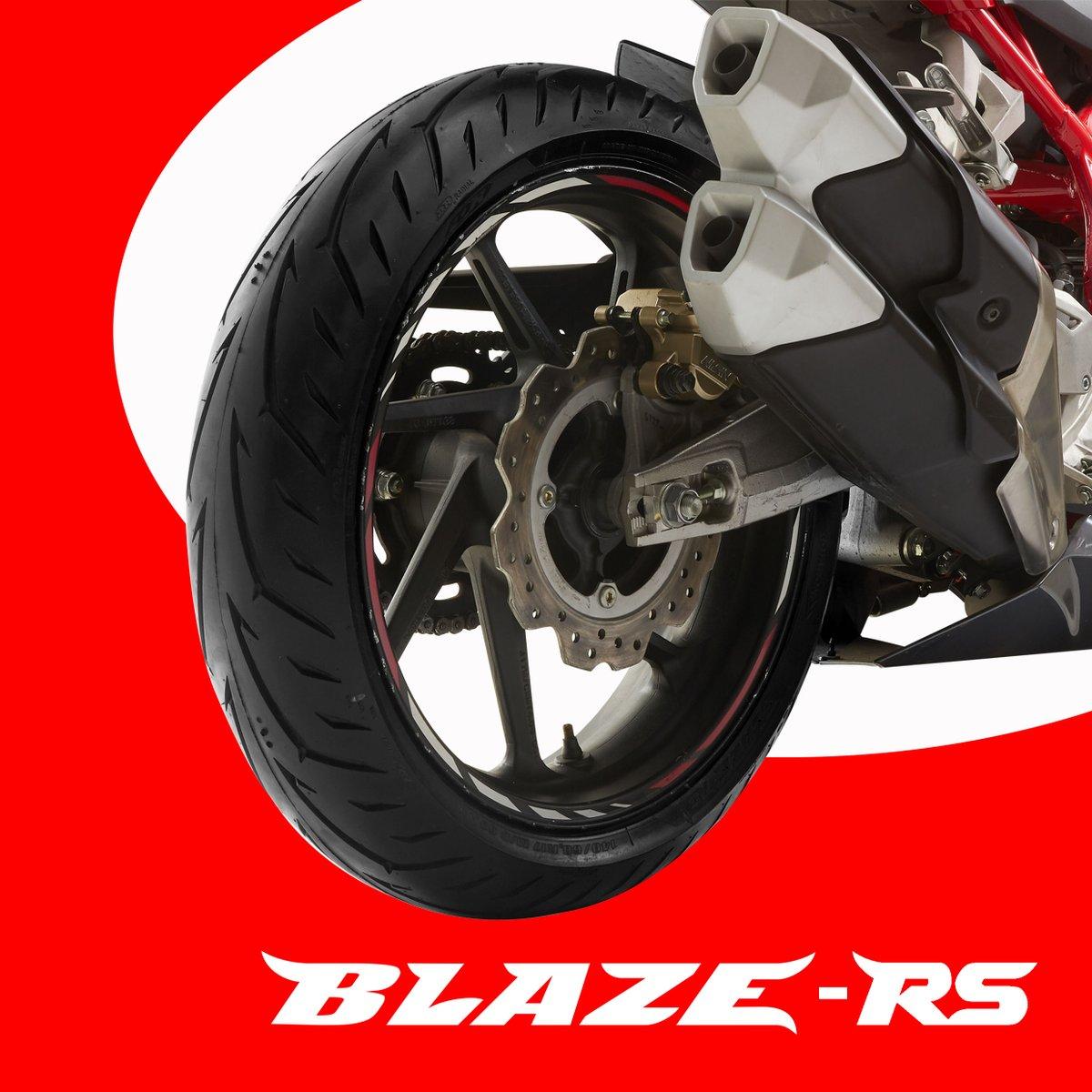Blaze RS, ban radial dengan intermediate compound bikin motor sport Sobat FDR jadi makin nge-grip!  Blaze RS sudah bisa dibeli di Official Store FDR di @Tokopedia Klik link di bio  #fdrtire #banfdr #PakaiBanFDR #BlazeRS https://t.co/Ih7bRD8npE