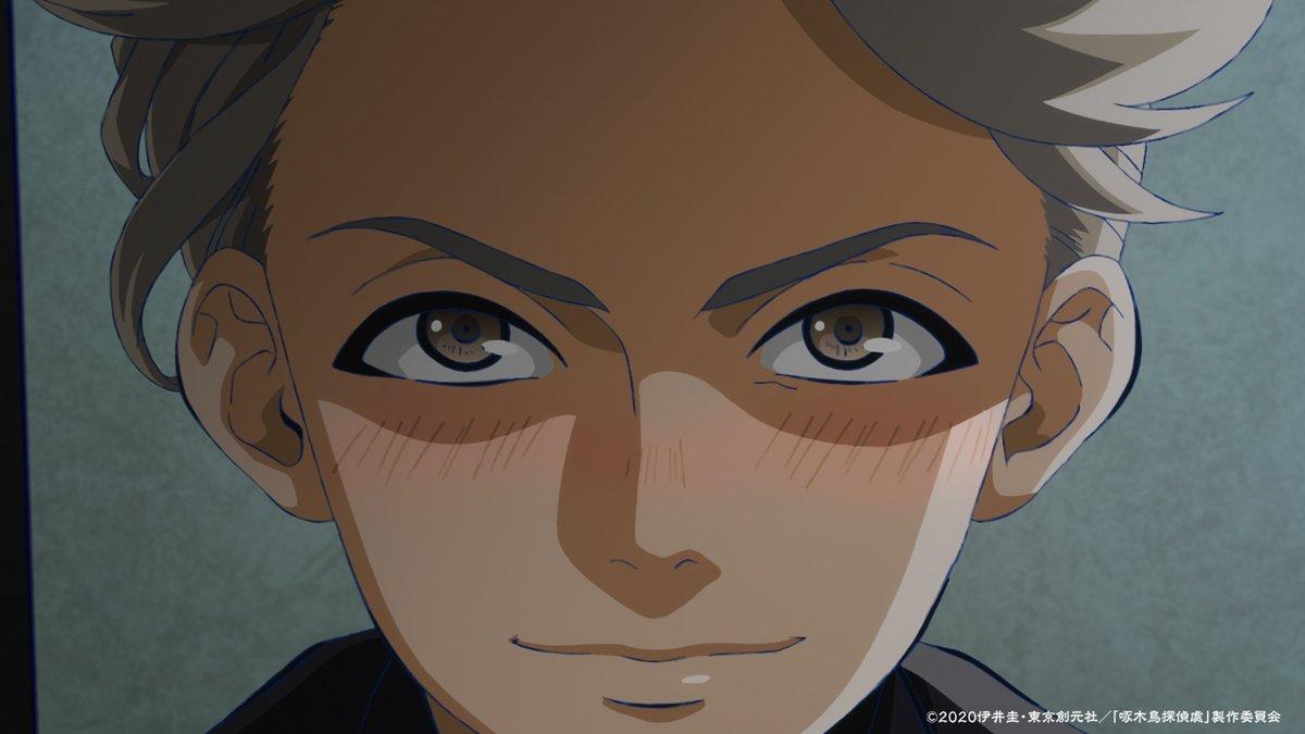 ⭐放送情報⭐本日はTOKYO MXで #啄木鳥探偵處 再放送です!第二首「魔窟の女」7月14日(火)TOKYO MX 23:00〜ぜひご覧ください!