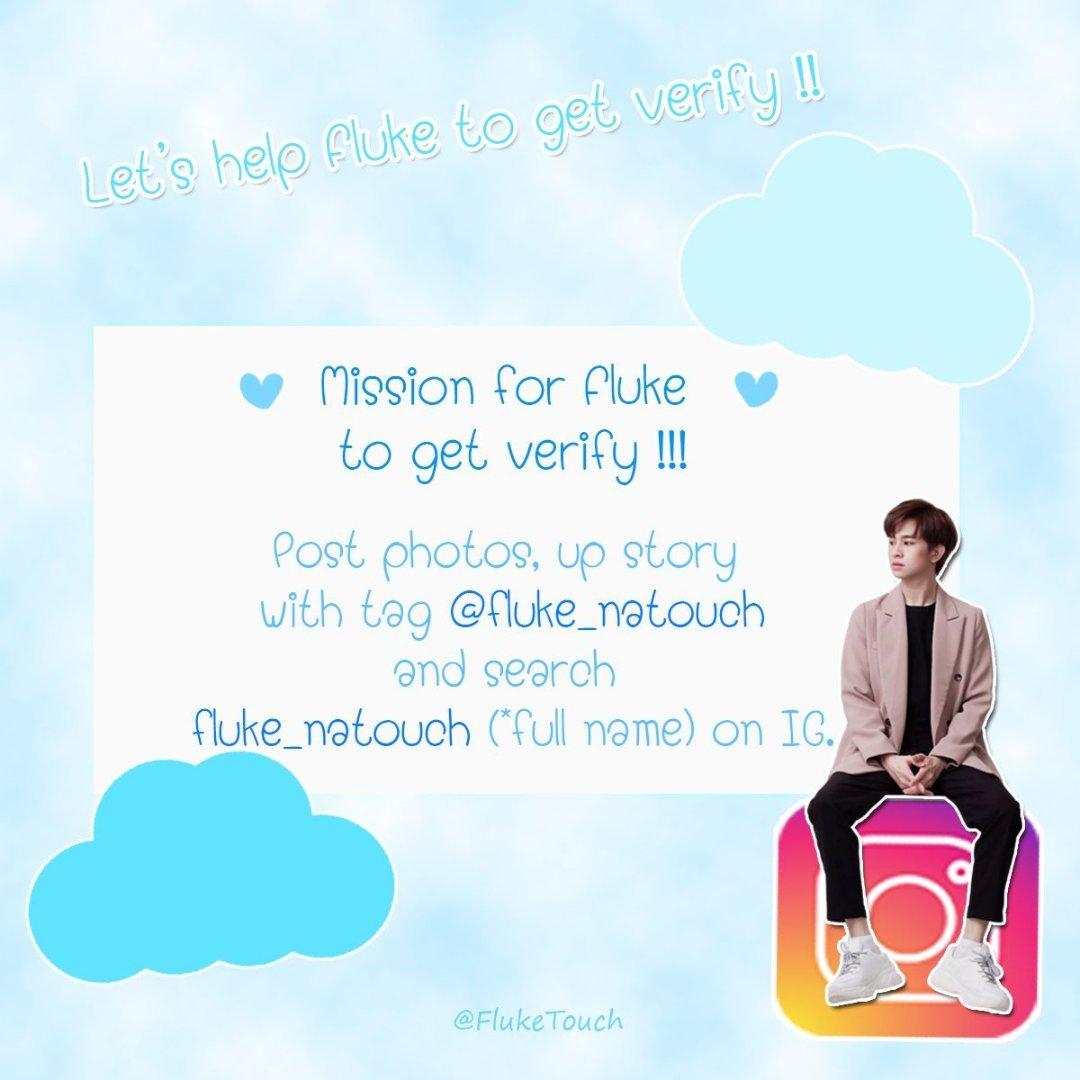 Please remember go to IG help Fluke certification,Thanks.#เจ้าแก้มก้อน #fluke_natouch cr:@FlukeTouchpic.twitter.com/FTuNBmkqOG