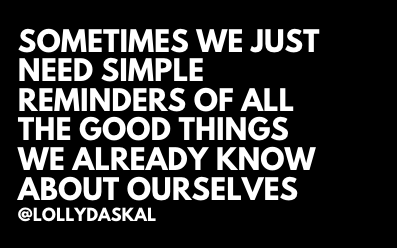 RT https://t.co/VcsUWfEgDy Sometimes we just need simple reminders of all the GOOD things we ALREADY know about OURSELVES. @LollyDaskal https://t.co/ifx5SO80T1 #TheLeadershipGap #Book #Leader… https://t.co/18sCLOUjCM