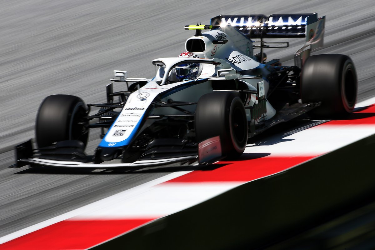 A gearbox issue brought #NL6's session to an early end ⚠️  He'll be back out for FP2 in a few hours though 👊  #AustrianGP 🇦🇹 | #WeAreWilliams 💙 https://t.co/7SOg6AVdRx