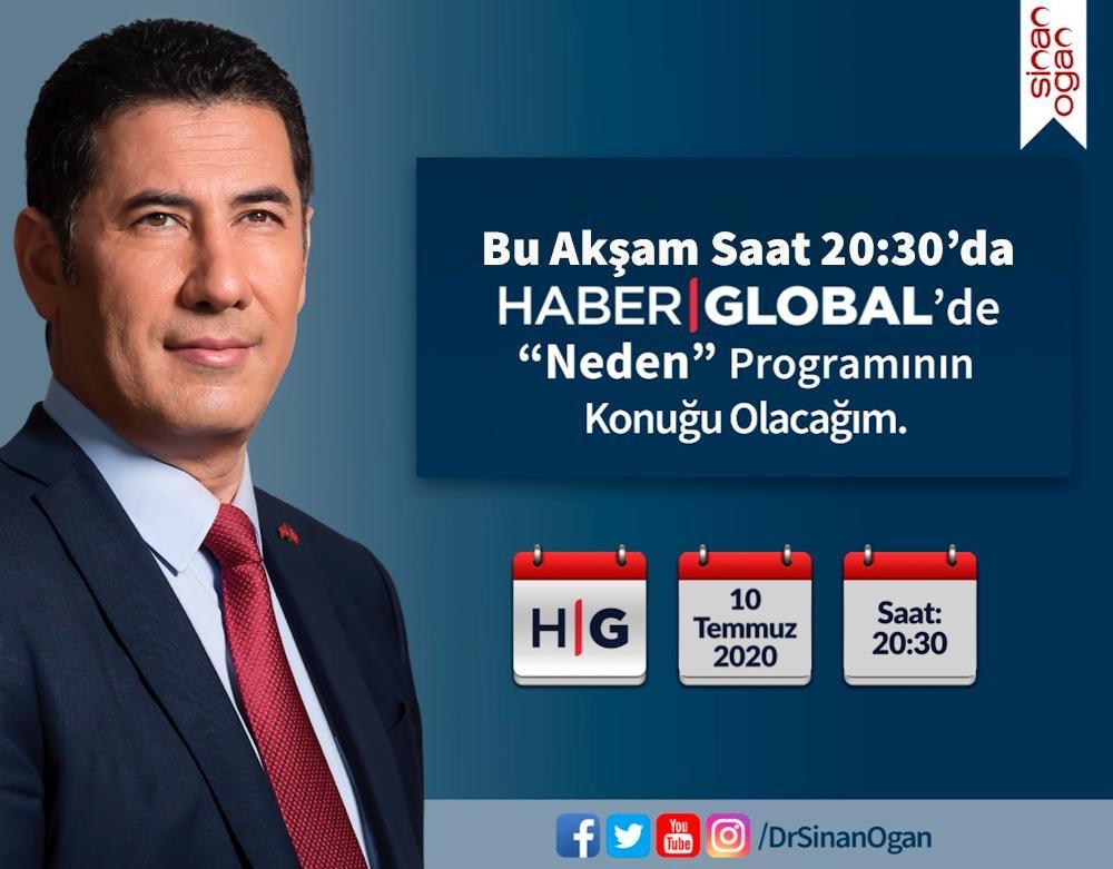 Bu akşam @HaberGlobal Tv'de @ilgazsenem ın konuğuyuz. Gündemin sıcak maddelerini değerlendireceğiz... Müsaitseniz sizi de bekleriz... https://t.co/FERqQFGkRa