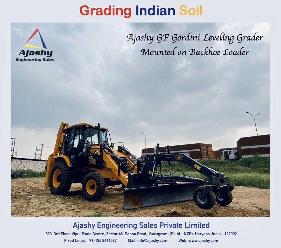 Ajashy GF Leveling Grader  #roadconstruction #roadproject #grader #roadgrader #motorgrader #grading #soilgrader #soilgrading #attachment #backhoeloader #wheelloader #skidsteer #construction #ajashy #engineering #gurugram #india #gfgordini #italypic.twitter.com/h0L3YrNlQa