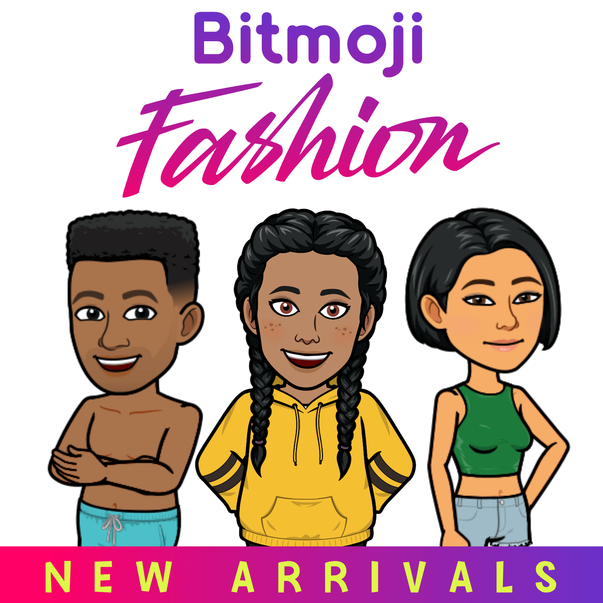 Check it out! Newmojis and new outfits just dropped 😎 https://t.co/VxOIgcrRLi