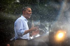 I prefer presidents who aren't defeated by a bit of rain.<br>http://pic.twitter.com/f762TUHl94
