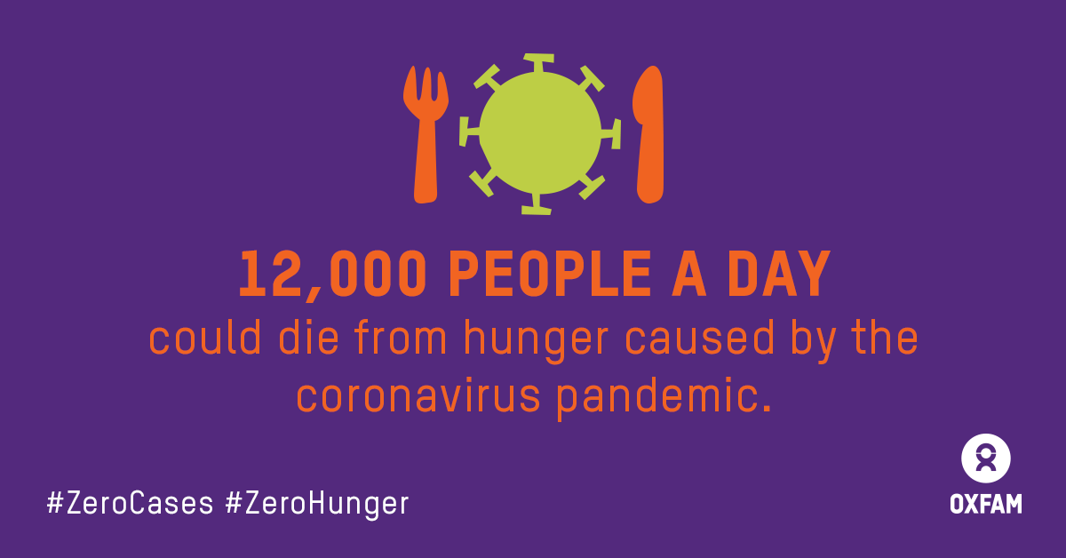 As startling as it may sound: 12,000 people *per day* could die from #COVID19-linked hunger by this end of this year - potentially more than from the disease itself.  New report shows startling figures: 👇🏿👇🏾👇🏽👇🏼👇🏻👇🏼👇🏽👇🏾👇🏿 https://t.co/yNH5YpBB8d  #ZeroCases #ZeroHunger https://t.co/3I9gEH2c1A